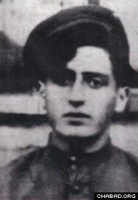 Bialowitz as a partisan in 1943