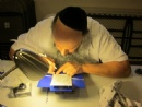 Mezuzah Campaign-Scribe @ Chabad