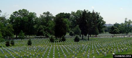 The Arlington National Cemetery, where the proposed to national Jewish chaplains' memorial, could be erected soon.
