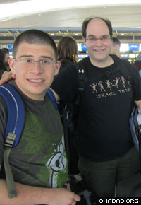 This is the fourth year the Friendship Circle has coordinated a Birthright Israel trip.