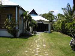 A museum recently built by the Jews of Sosua