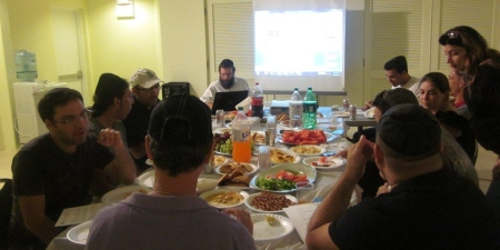 One of our Torah classes.