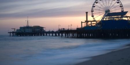 The S. Monica Pier