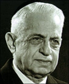 Philanthropist Isaac Shalom, of blessed memory.