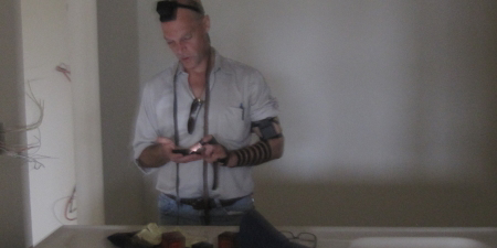 Shulem in our tefillin.
