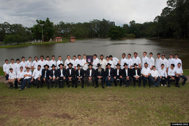 """A total of 42 Jewish teenagers and 11 staff members made up the Yeshivas Kayitz Costa Rica, a """"summer yeshiva"""" run by Chabad-Lubavitch of Costa Rica."""
