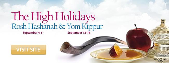 The High Holidays Rosh Hashanah And Yom Kippur Yamim Nora Im