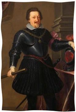 Le roi Ferdinand II de Habsbourg