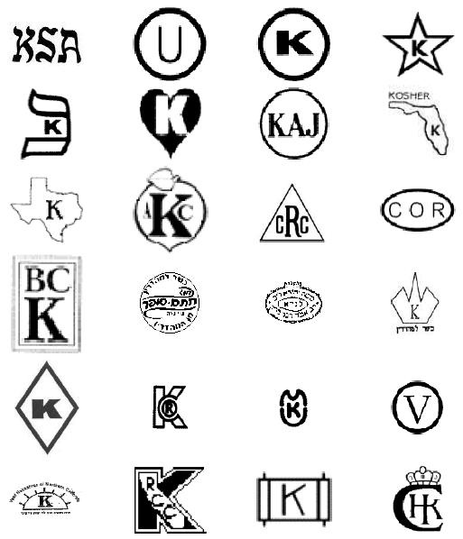 Kosher Symbols Accepted at Chabad House - Chabad House of Asheville