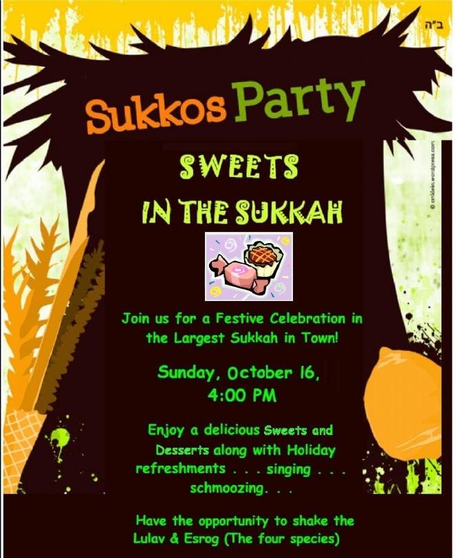 Sweets in the sukkah #1 - 5772.JPG