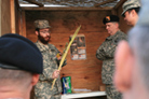 Maryland Base Celebrates Sukkot for First Time