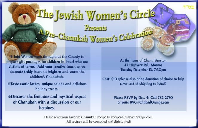 Women's Circle Pre Chanukah Gift to Isreal.jpg