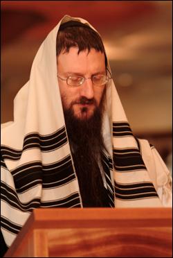 The Chabad tallit.