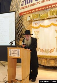 At 77, Rabbi Sholom Ber Butman is the oldest freshman Chabad-Lubavitch emissary.