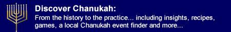 Discover Chanukah
