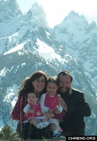 Rabbi Zalman and Raizy Mendelsohn moved to Wyoming in 2007.