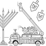 Danny Dina Coloring Pages Find Danny Dina Jewish Kids