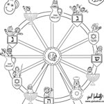 coloring pages ferris wheel - danny dina coloring pages find danny dina jewish kids