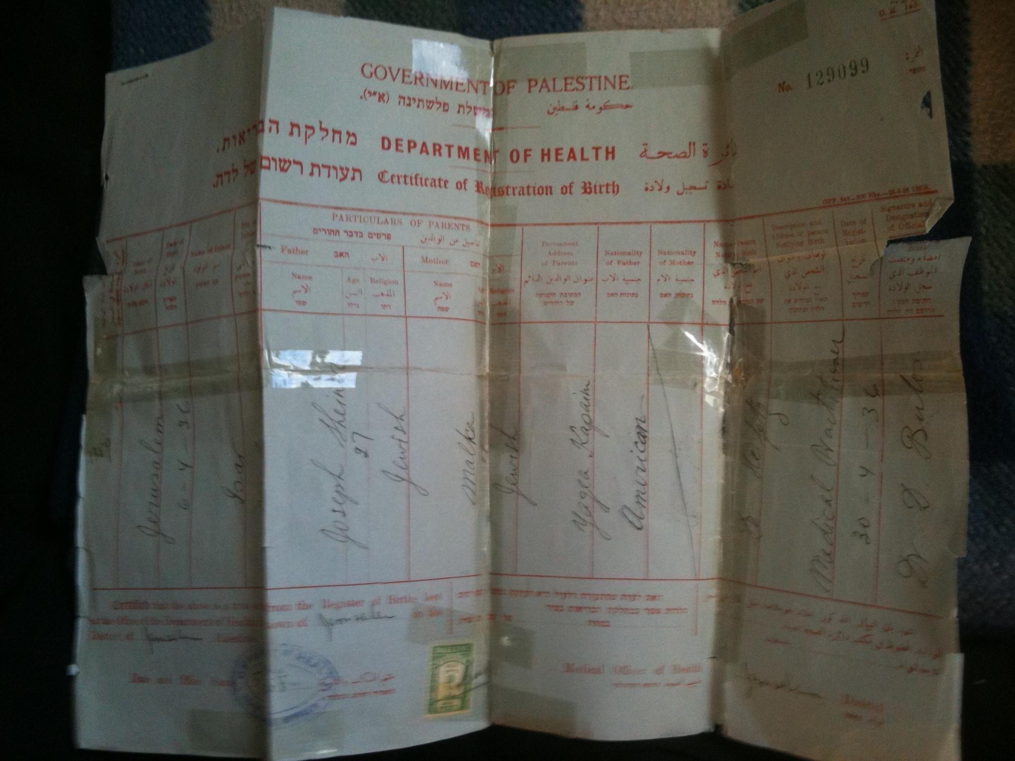Reb dovid scheiner zl chabad center of natick birth certificateg aiddatafo Images