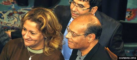 Newly-elected Tunisian President Moncef Marzouki attends a National Assembly meeting. (Photo: Tab59/Flickr)