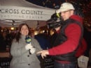 Menorah Lighting@Cross County 2011