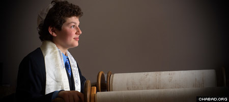 Jeremy Benjamin, 13, volunteered for the World Memory Project before his bar mitzvah in Nashville, Tenn. (Photo: Rick Malkin)