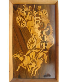 The handcrafted original artwork.