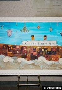 "Michoel Muchnik's ""Turbulent Seas"" invokes the hope of the ship's doomed passengers."