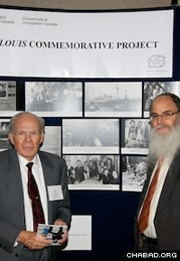 Real-life S. Louis passenger Herbert Karliner, left, identified photos of himself as a 12-year-old boy.