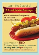 Learn the Secret of a Great Kosher Sausage