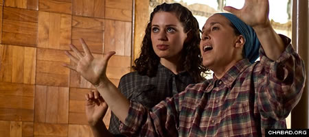 """Miriam Bogen, left, played by Rivka Siegel, adjusts to life in a Catskills summer camp in Robin Garbose's """"The Heart That Sings."""""""