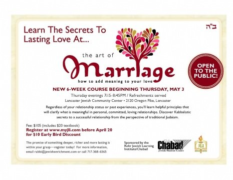 Kabbalistic Secrets to a Successful Marriage - Rohr Chabad