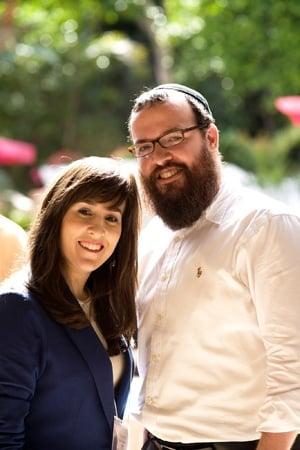 Rabbi Zalman and Hindel.jpg