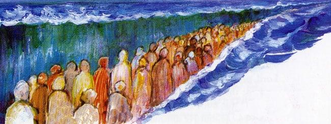 בשלח: נחשון בן עמינדב: הגיבור שהתקדם לתוך הים