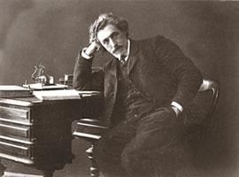 "Shlomo Zanvil Rapaport (""S. Ansky"") (1863-1921), noted Russian Yiddish author and playwright."