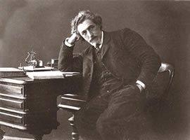 """Shlomo Zanvil Rapaport (""""S. Ansky"""") (1863-1921), écrivain et dramaturge russe célèbre de langue yiddish."""