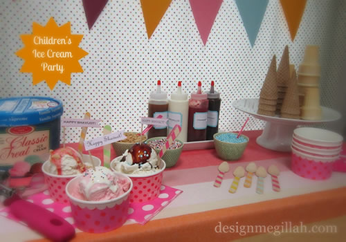 Shavuot Ice Cream Party Creative Projects More