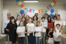 Hebrew School End Of The Year Ceremony