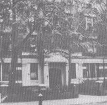 L'immeuble de la Rabbanit 'Hanna sur President Street