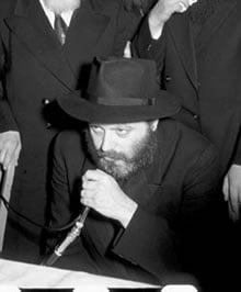 The Rebbe (Circa 1953)