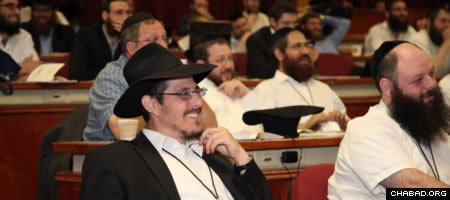 Directors of campus Chabad Houses look forward to their annual conference for its workshops and planning sessions. (File photo: Bentzi Sasson/Chabad.edu)
