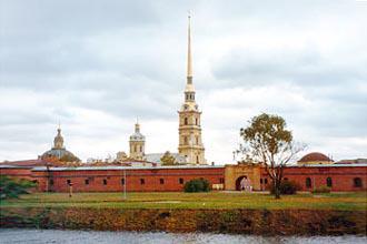 """בית הכלא שם הוחזק האדמו""""ר הזקן בס. פטרבורג"""