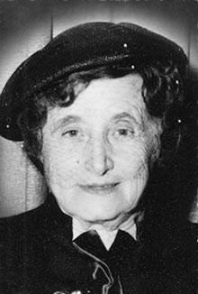 Rebbetzin Chana Schneerson (1880-1964)