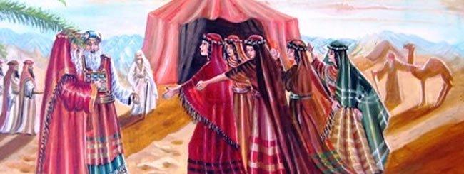 פינחס: חמש אחיות חכמות וצדקניות: סיפורן של בנות צלפחד