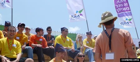 About 50 participants took part in a free Taglit-Birthright Israel tour of the Holy Land for people with special needs and provided by Mayanot.