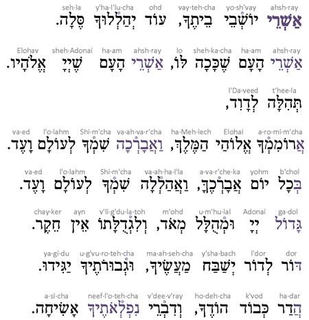 26  Ashrei Song - Jewish Music - Audio