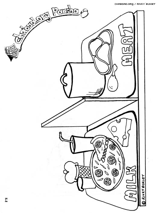 Mishpatim Coloring Pages Family