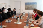 Chief Rabbis' Whirlwind of Berlin Meetings Place Circumcision on Public Agenda