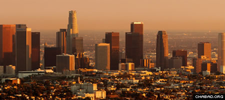 Downtown Los Angeles at sunset (Photo: Matthew Field)