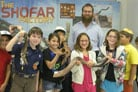 Houston Children Make Their Own Shofars